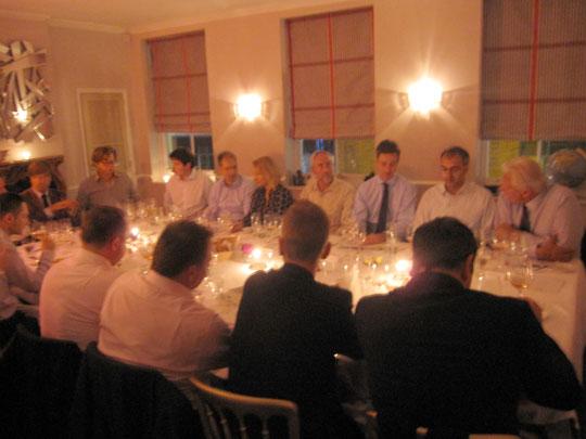 Lafon Rochet Dinner at Gauthier-Soho