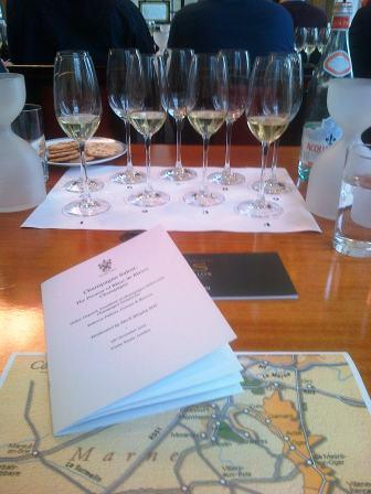 Salon Delamotte Tasting