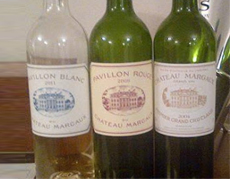 Chteau Margaux line-up
