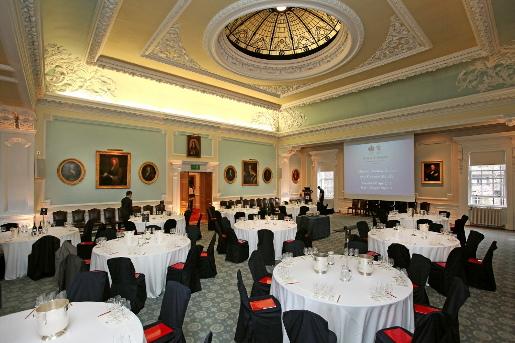 The Royal College of Surgeons, Edinburgh, 18th of April 2013