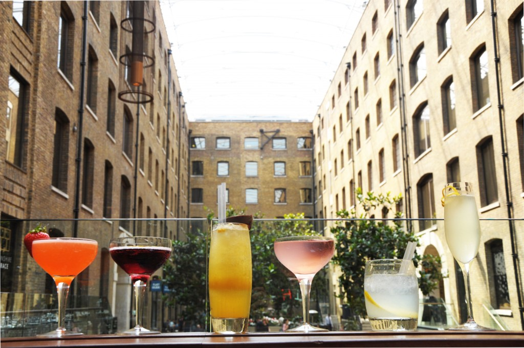 Devonshire Terrace C&B Bar wine cocktails