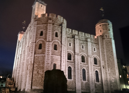 The Tower of London was a magnificent setting for our Burgundy tasting