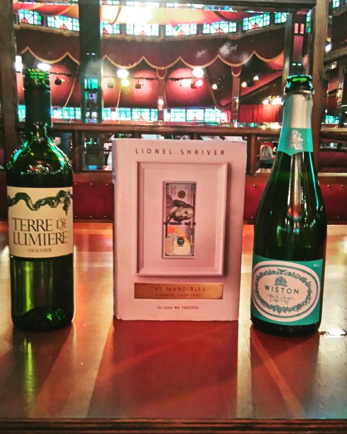 Book and bottle pairings