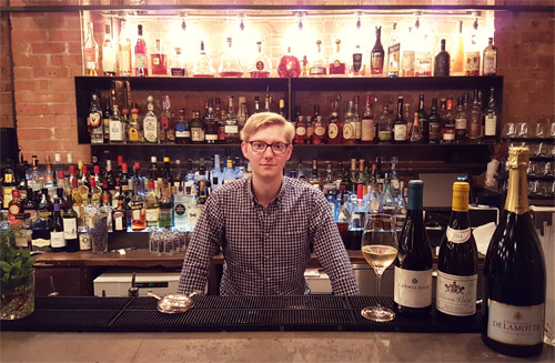 Charles Pashby_tylor Head Sommelier at Dabbous