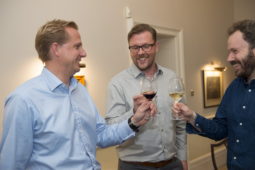 Helping Damian choose our #NovelPairings are James Franklin from Corney & Barrow and Simon Heafield from Foyles.