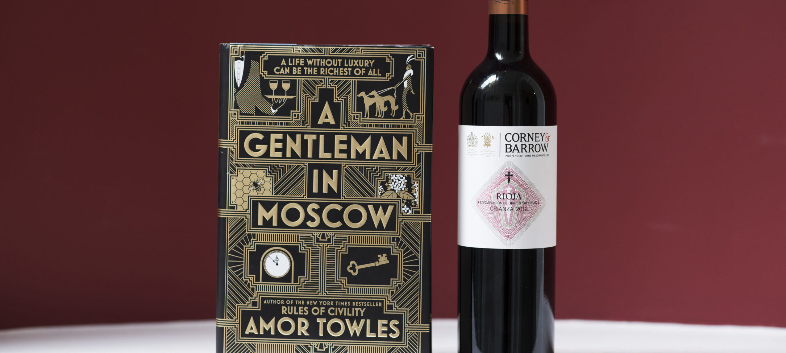 Book & Bottle #NovelPairing: A Gentleman in Moscow