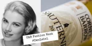 Fashion week Grace Kelly and Sauternes