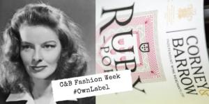 Fashion week Katharine Hepburn and Ruby Port