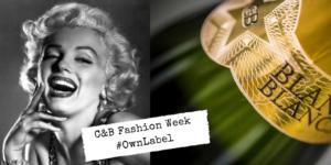 Fashion week Marilyn monroe and sparkling