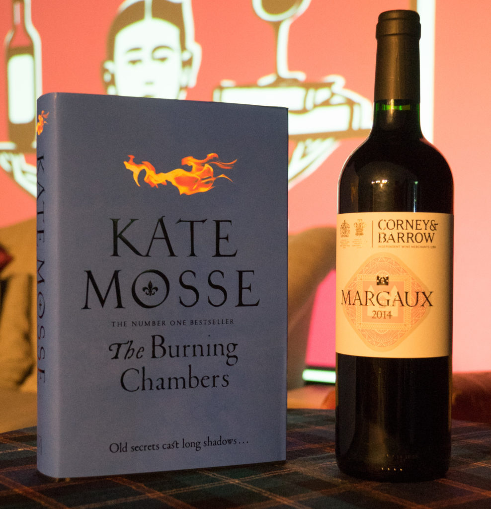 The Burning chambers novel pairing
