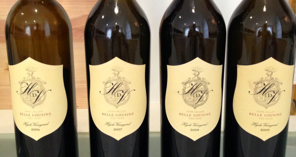 Vertical Skype Tasting with Hyde de Villaine