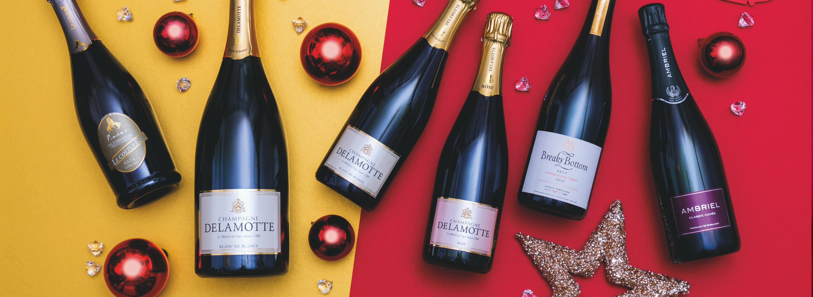 Celebrate with sparkling