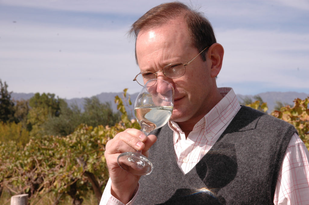 Fairtrade winemaker Dr Griguol