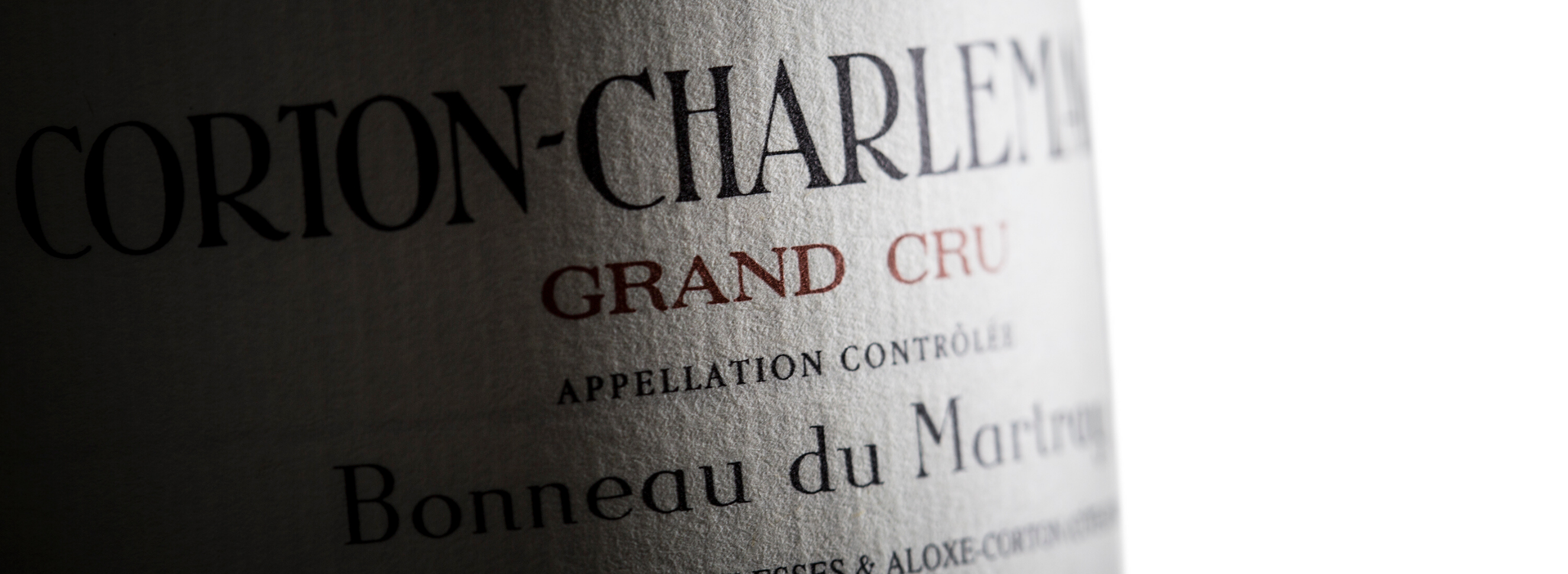 Bonneau du Martray: Thank You Jean-Charles